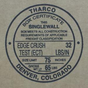 Edge Crust Test 32 stamp