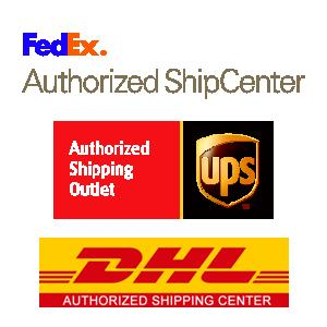 UPS - FedEx - DHL shipping