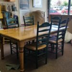 Table with 6 chairs shipped freight